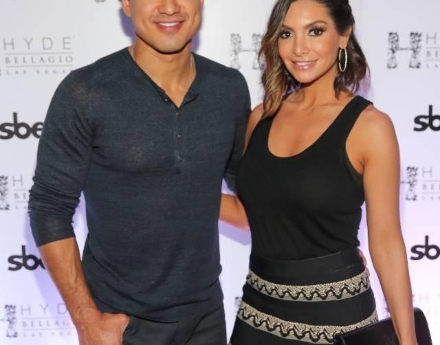 Mario Lopez & Courtney Mazza Lopez at Hyde Bellagio, Las Vegas - 5.3.14