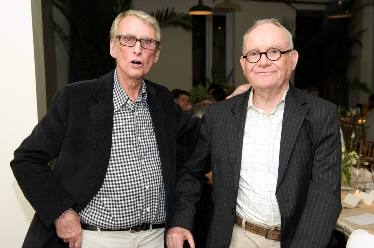 Mike Nichols and Buck Henry