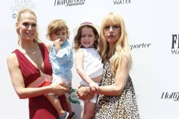 Molly Sims and Rachel Zoe celebrate OCRF's Super Saturday LA