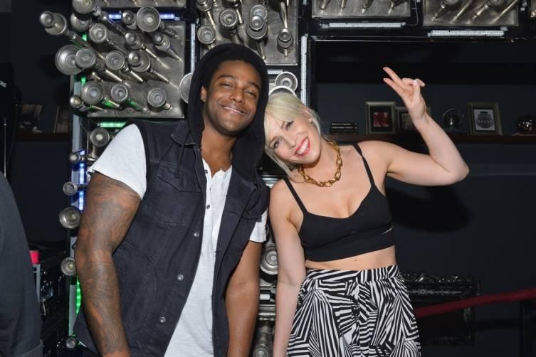 Natasha Bedingfield & Austin Brown, Hyde Bellagio, Las Vegas, 5.17.14 (photo credit - WireImage)