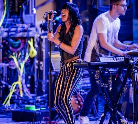 Phantogram performs during OBC presented by X107.5 at Boulevard Pool at The Cosmopolitan_Kabik-273