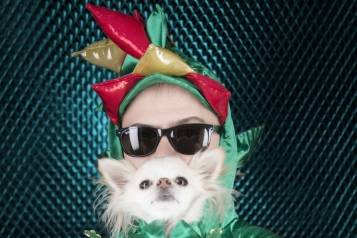 Piff and Mr. Piffles Portrait