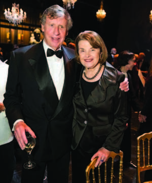 Dianne Feinstein And Richard Blum