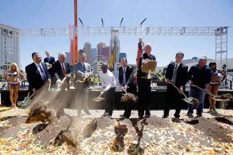 MGM Resorts And AEG Break Ground On New Las Vegas Arena