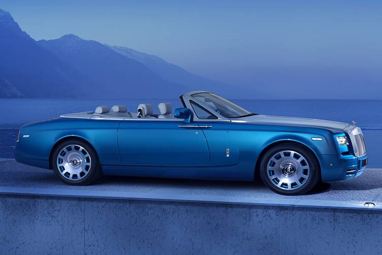 Rolls Royce Drophead Couple Waterspeed Collection Side View