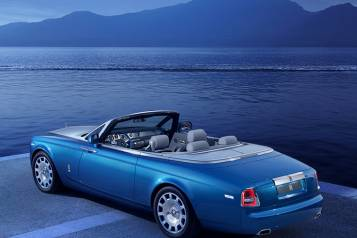 Rolls Royce Phantom Drophead Coupe - Rear View