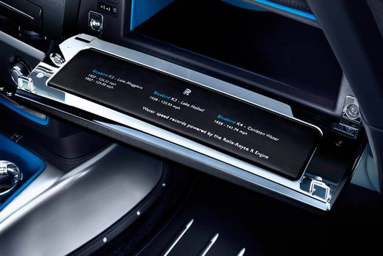Rolls Royce Phantom Drophead Coupe Waterspeed Collection - Glove Box