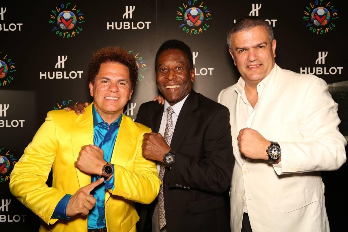 Romero Britto, Pele, Ricardo Guadalupe