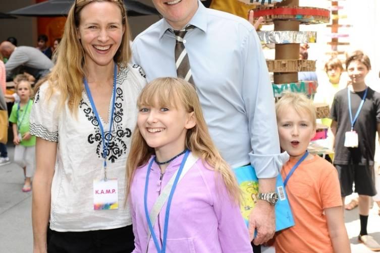 Conan O'Brien & family