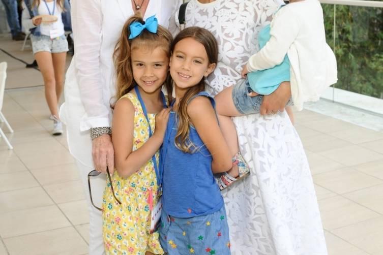 Jessica Alba + family