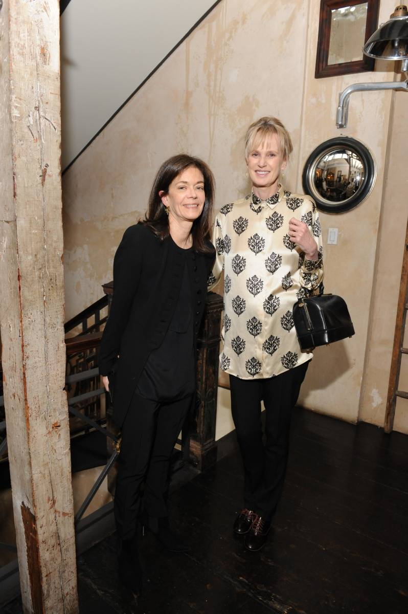 Shelley Wanger and Siri  Hustvedt