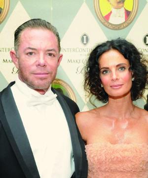 Shareef Malnik and Gabriella Anwar