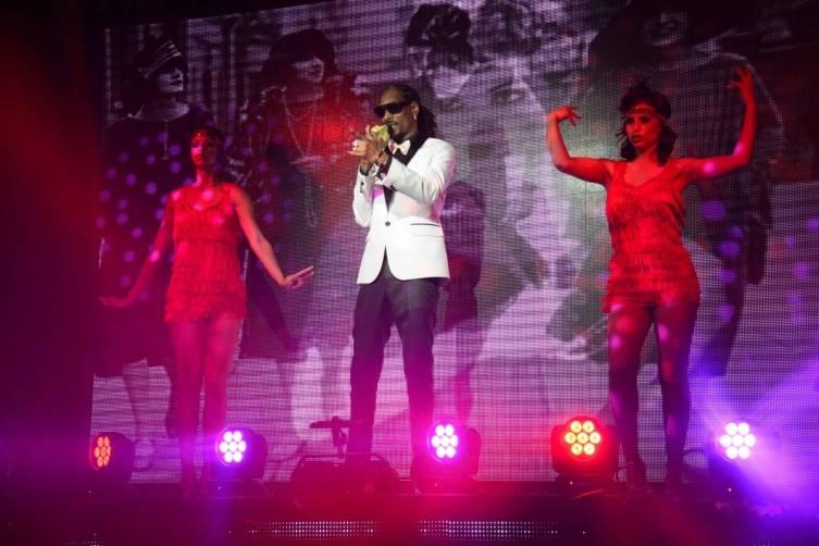 Snoop Dogg Performs at TAO