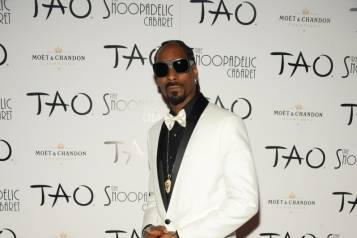 Snoop Dogg on TAO Red Carpet