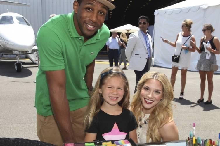 Stephen Twitch Boss Allison Holker and Allison's Daughter Weslie at Super Saturday LA