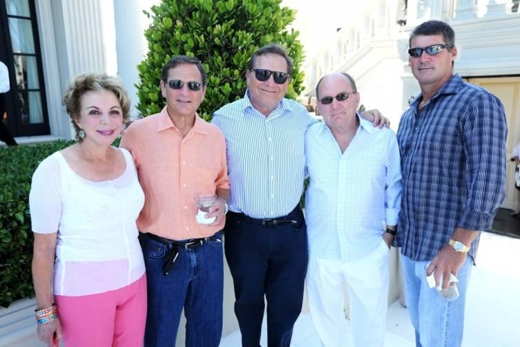 Suzy Finkelstein, Neil Finkelstein, Richard Finkelstein, Chuck Johnson, & Chris Johnson1