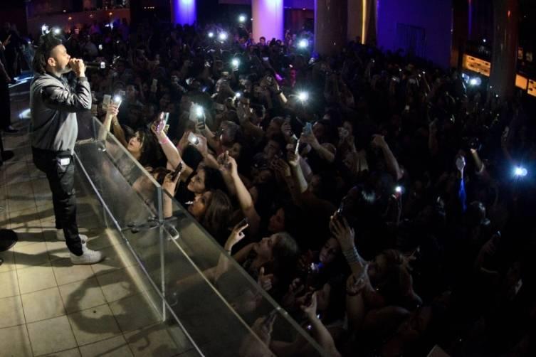 The Weeknd_PURE Nightclub