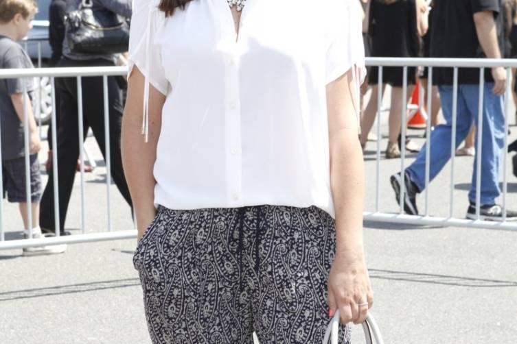 Tiffani Thiessen at Super Saturday LA