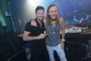 XS – Ryan Seacrest – David Guetta – photo credit Danny Mahoney