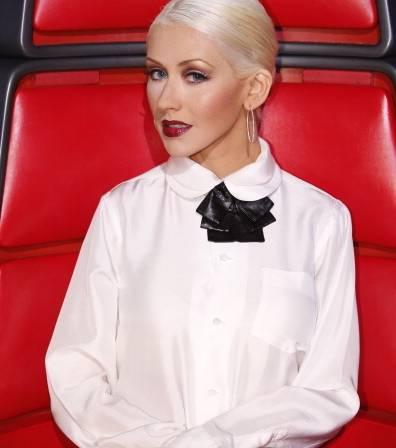 Christina Aguilera, The Voice