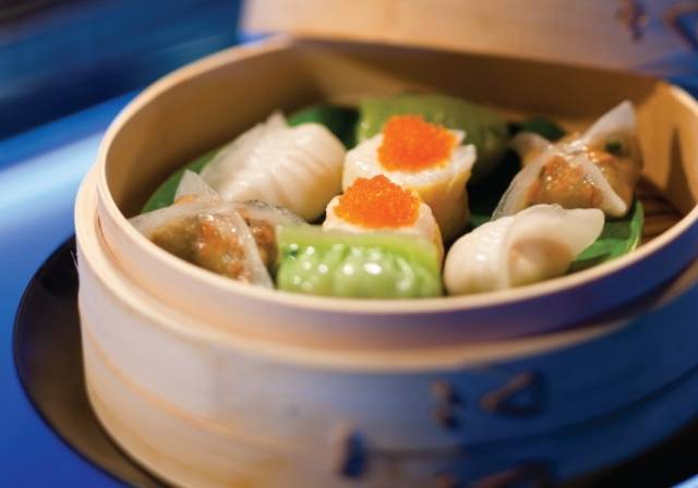 dumplings from Hakkasan