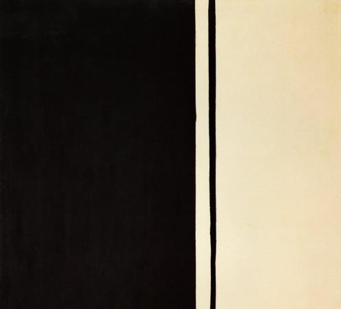 """Black Fire I"" by Barnett Newman"