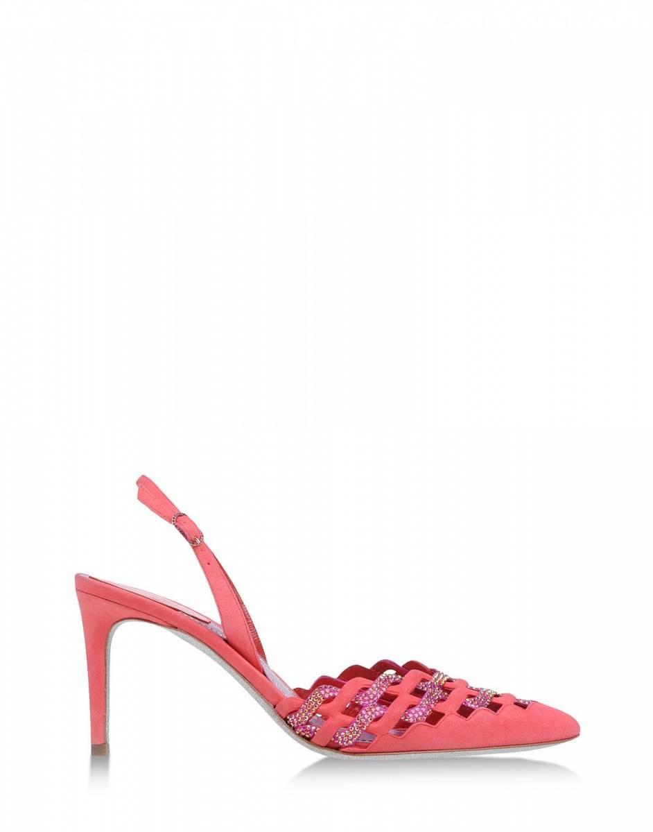 rene caovilla - slingbacks pink - 1360