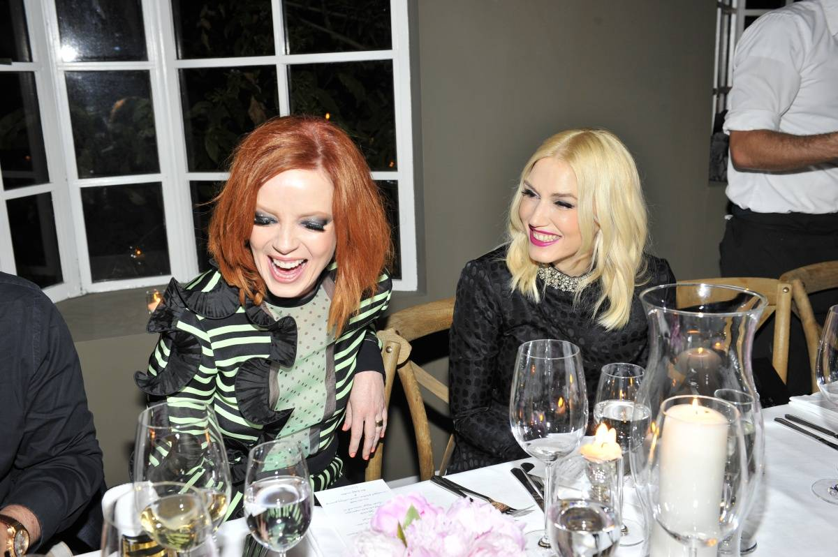 shirley manson and gwen stefani