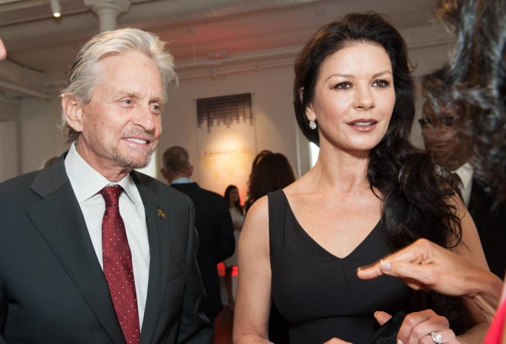 Michael Douglas and Katherine Zeta Jones  Credit: Drew Altizer Photography