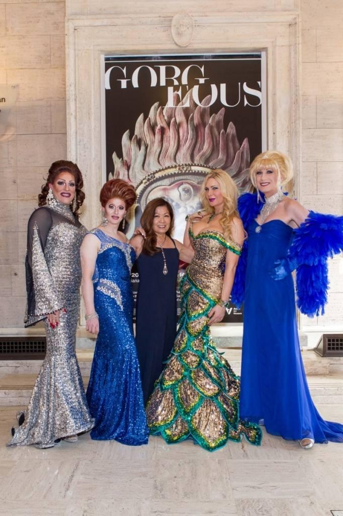 Kendra Monroe, Holotta Tymes, Nanci Nishimura, Cassandra Cass and Donna Sachet  Credit: Drew Altizer Photography