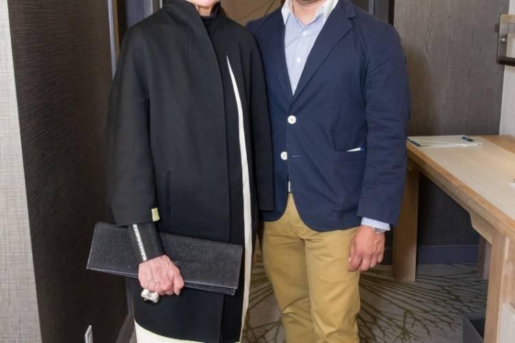 Joy Venturini Bianchi and Rod Rivas