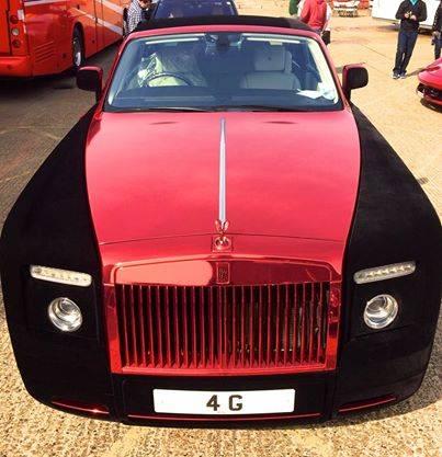 Velvet Rolls Royce