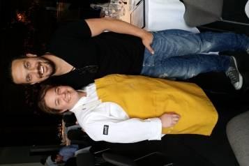 Deena Marino and Fabio Viviani