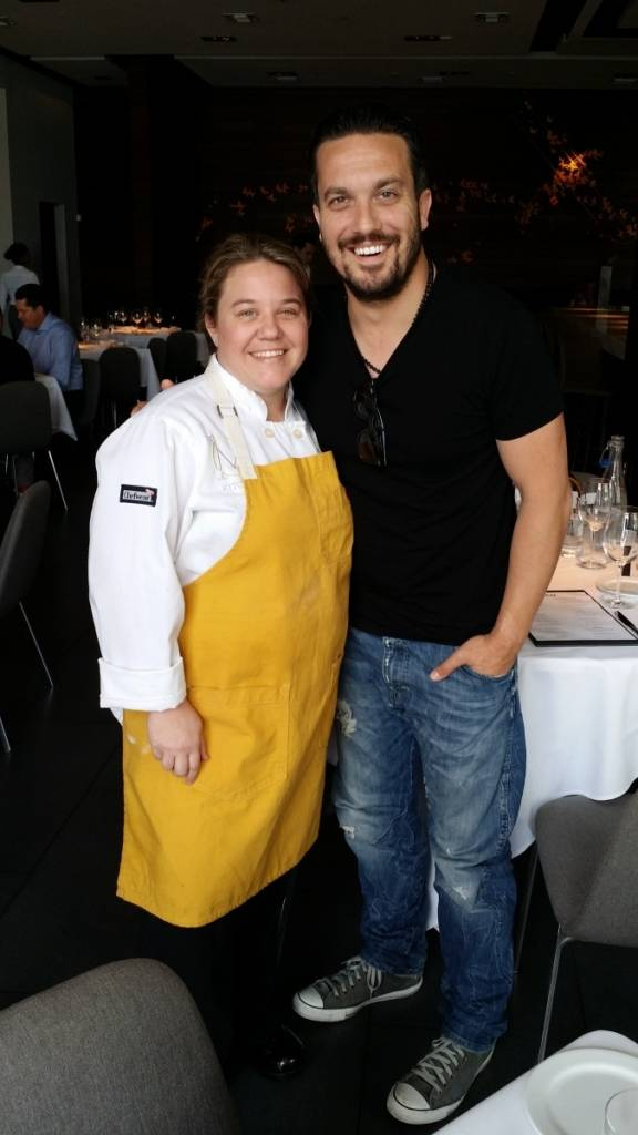 Dena Marino and Fabio Viviani