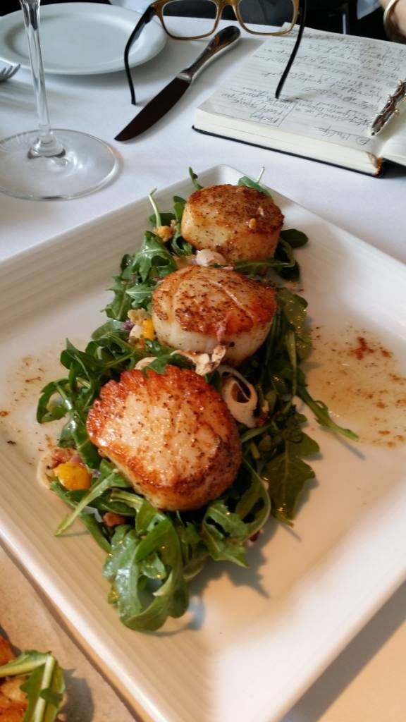 Pan Seared Jumbo Scallops from MC Kitchen