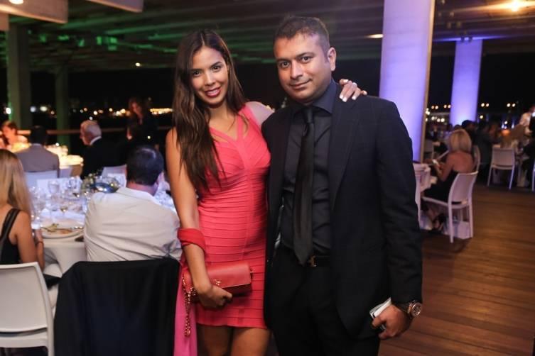Carmen Trigueros and Kamal Hotchandani