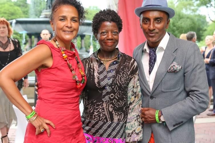 Carol Sutton Lewis, Thelma Golden and Marcus Samuelsson