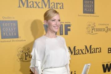 Cate Blanchett attends WIF 2014 Crystal + Lucy Awards presented by MaxMara, BMW, Perrier-Jouet, South Coast Plaza – Getty Images