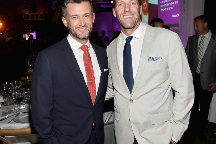 Chris Loveall and Audi's Michael Patrick