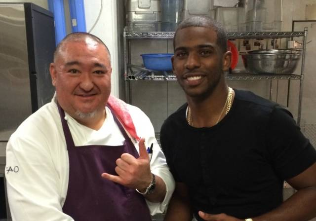 Chris Paul at TAO