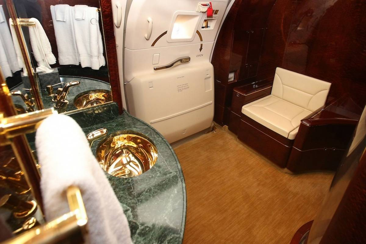 A Peek Inside Donald Trump S 100 Million Private Jet