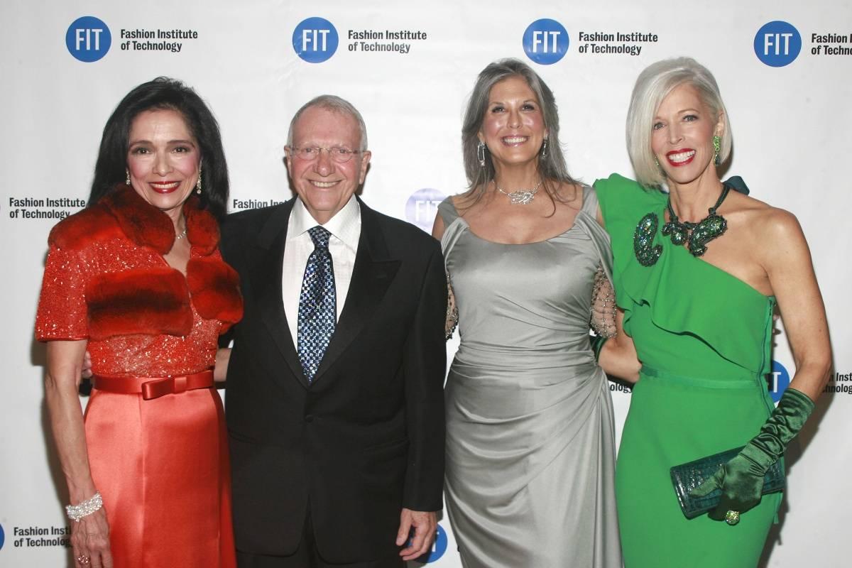 Dr. Joyce Brown, Dr. Jay Baker, Joan Hornig and Linda Fargo