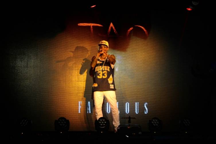 Fabolous Performs at TAO Nightclub