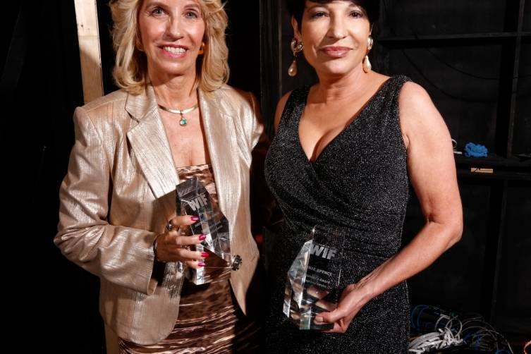 Founders Award honorees Judith Parker Harris and Bonnie Spence - Getty Images