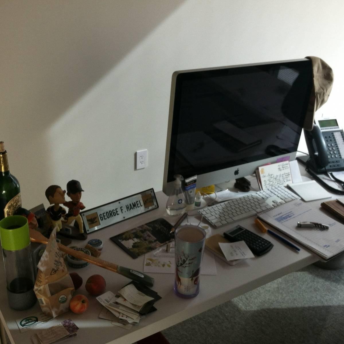 George Hammel's Desk