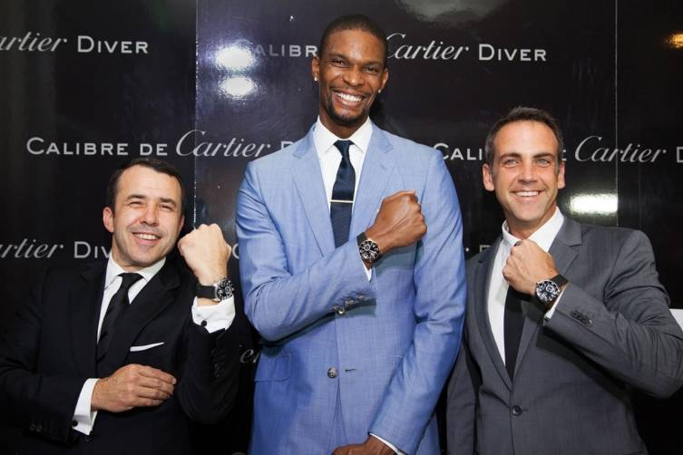Christophe Massoni, Chris Bosh, Carlos Ponce