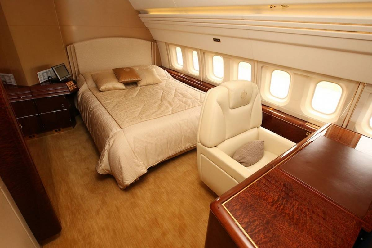 Inside Donald Trump's Private Jet