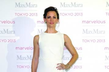 Jennifer Garner, courtesy of Max Mara