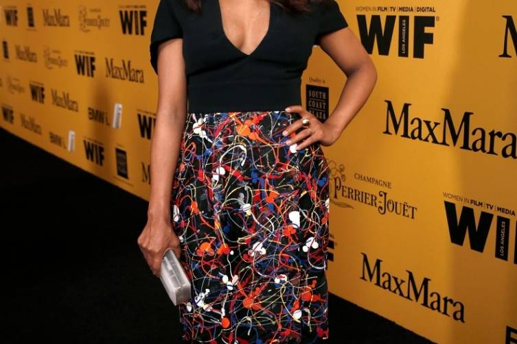 Kerry Washington in MaxMara at WIF 2014 Crystal + Lucy Awards presented by MaxMara, BMW, Perrier-Jouet, South Coast Plaza - Getty Images
