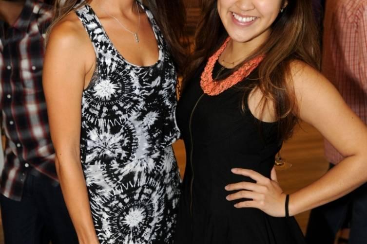Kristine Mcglinchey & Teresa Shum1